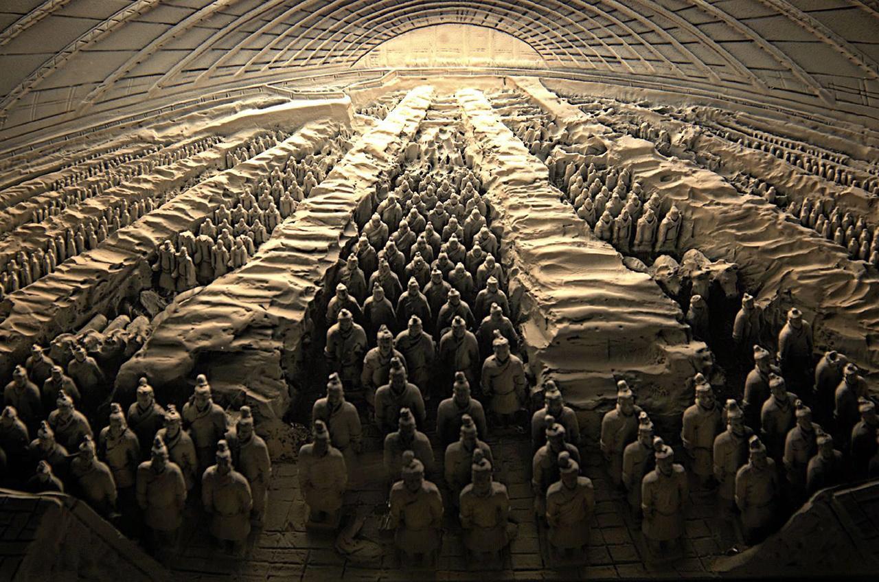สุสานจิ๋นซีฮ่องเต้ มหาสุสานจักรพรรดิจีนอันยิ่งใหญ่ สิ่งมหัศจรรย์ที่โลกต้องจารึก