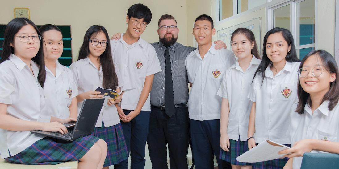 เกาะรั้ว โรงเรียนนานาชาติ ในประเทศไทย
