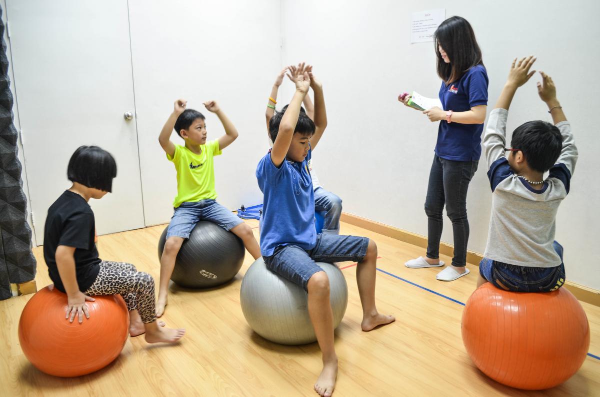 การออกกำลังกาย ของเด็กวัยเรียน