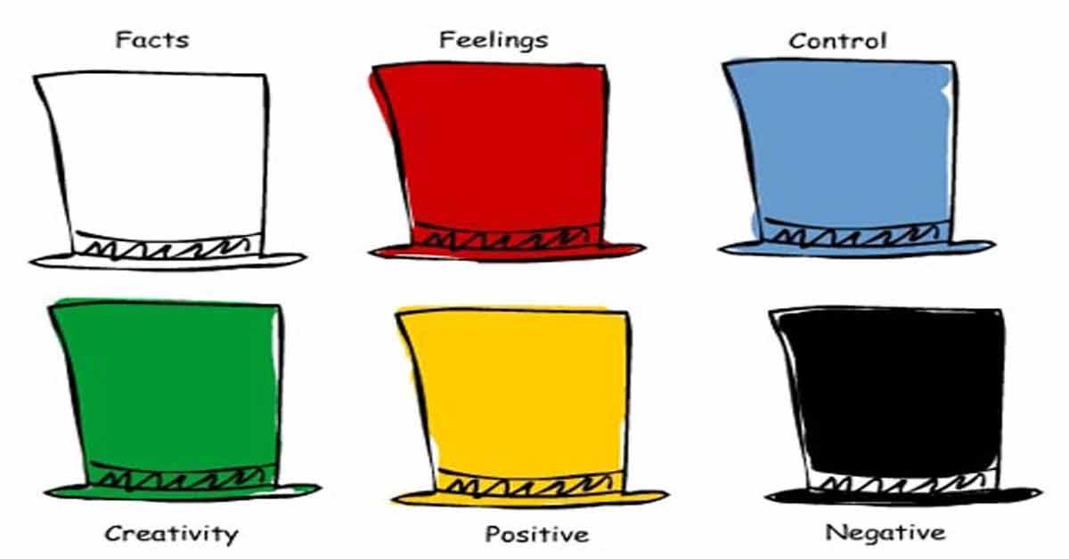 ทฤษฎีหมวก 6 ใบ ฝึกคิดแบบใหม่ ให้การเรียนมีประสิทธิภาพขึ้น